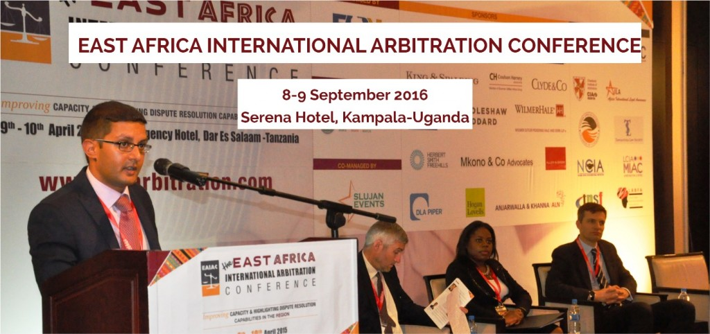 Uganda to host the 4th Edition of the East Africa International Arbitration Conference