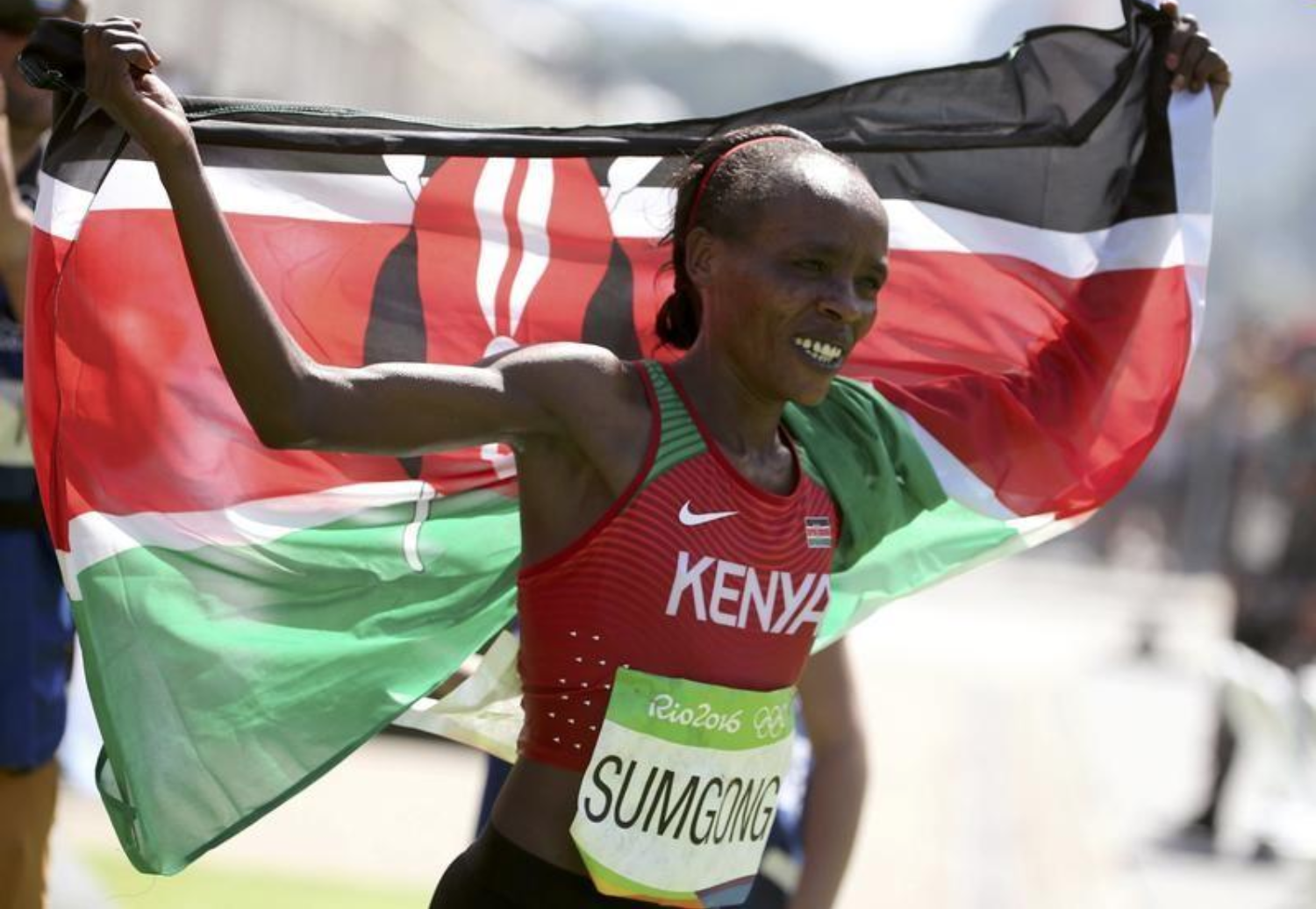 Kenya's Sumgong has doping ban doubled to eight years