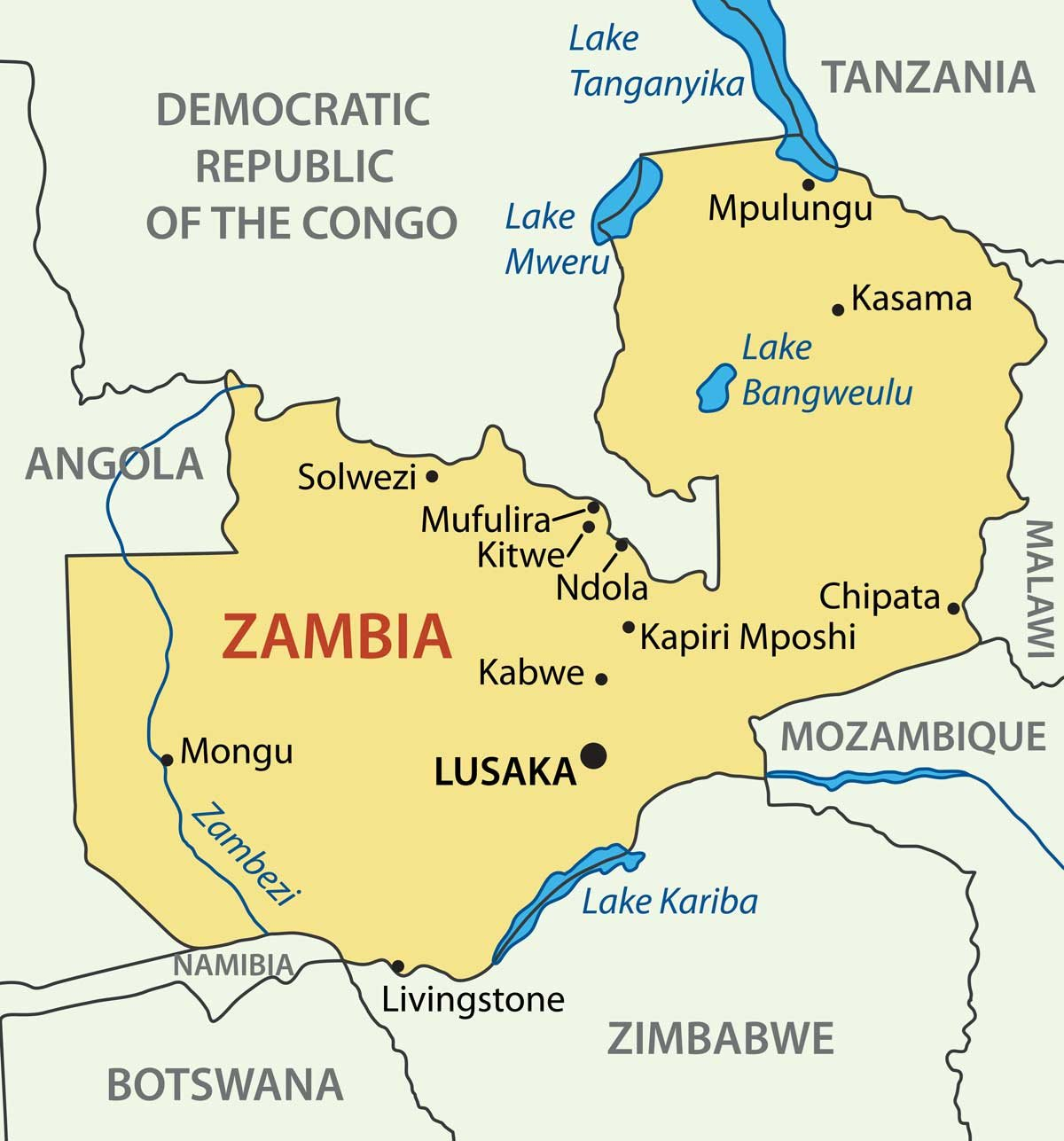 Zambia pays first installation of 380 million USD award